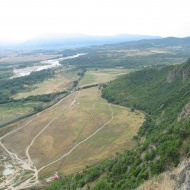 Eastern end of Heraclea Sintica & Struma river