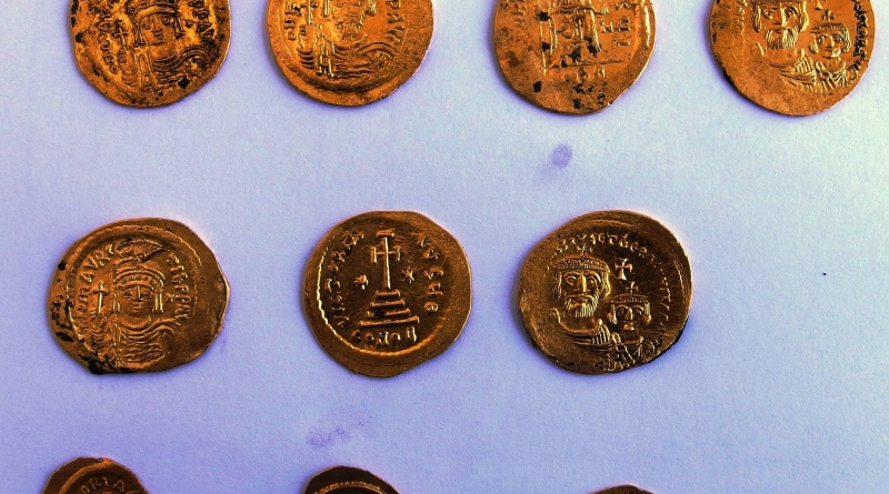 Gold coins from Chrysosotira