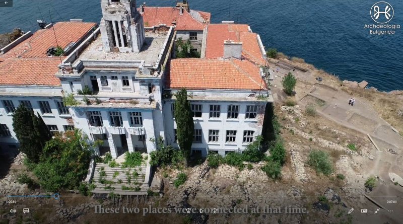 TO ST. KIRIK ISLAND AND BACK IN TIME
