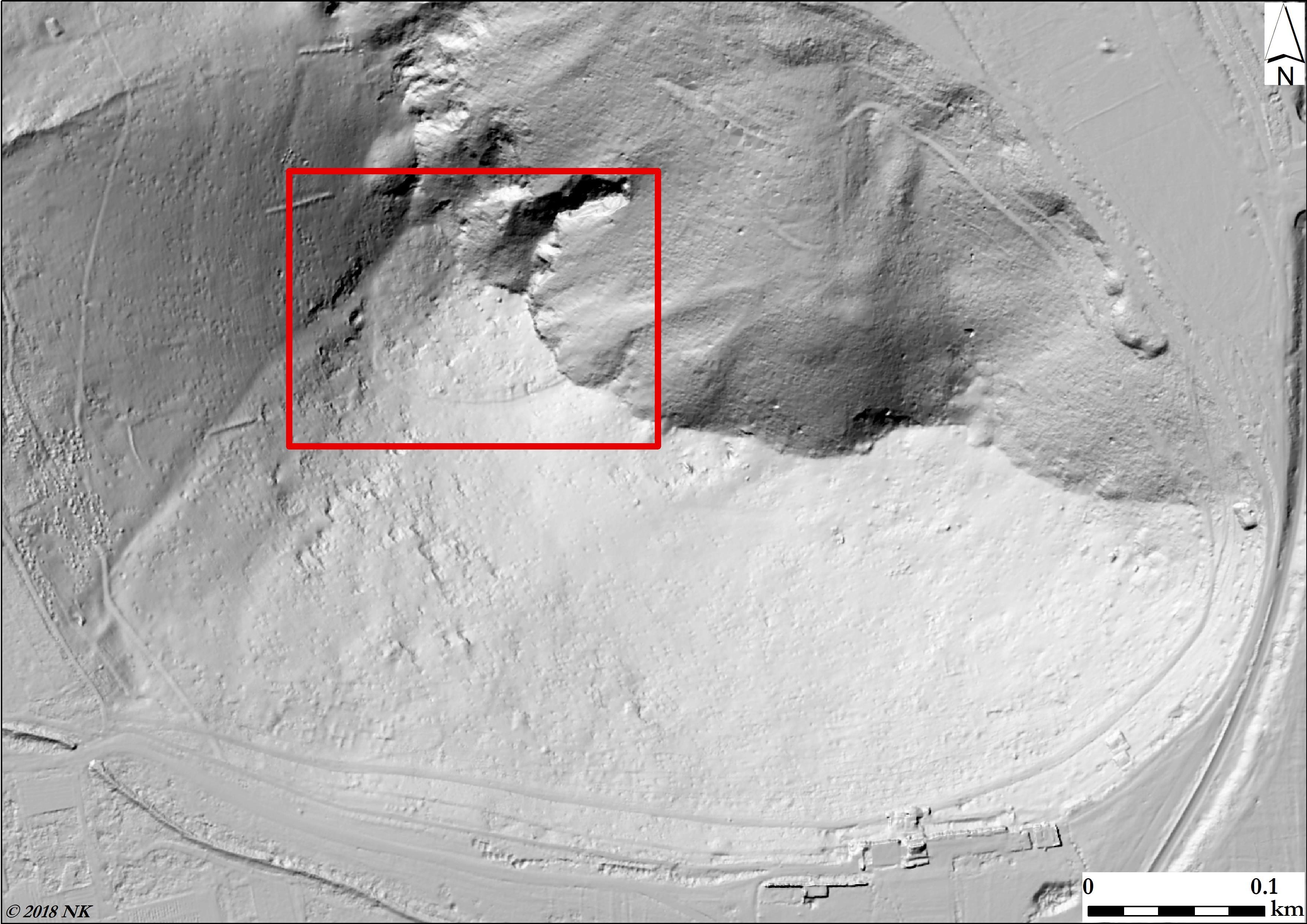 Резултатите от LiDAR може да помогнат да бъде намерен ранният акропол на Хераклея Синтика