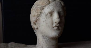 Мраморна глава от Хераклея Синтика