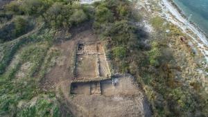 Археологическият обект на п-в Хрисосотира