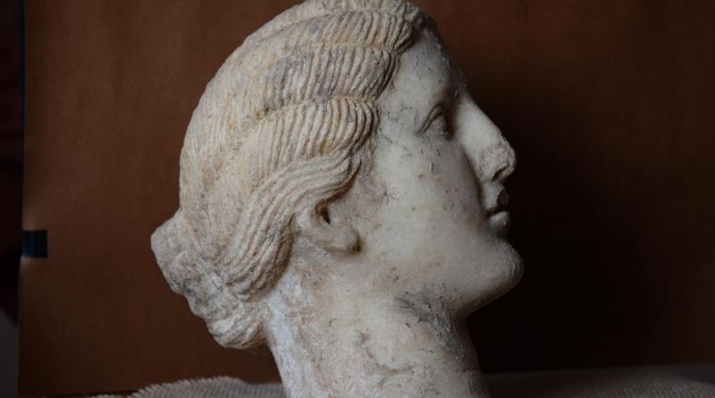 Новини около мраморната глава от Хераклея Синтика