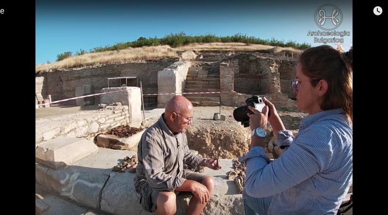 Откриха образа на богинята Нике на необичайно място