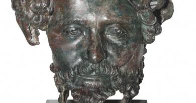 Главата на Септимий Север от Деултум вероятно е част от композиция с императорското семейство
